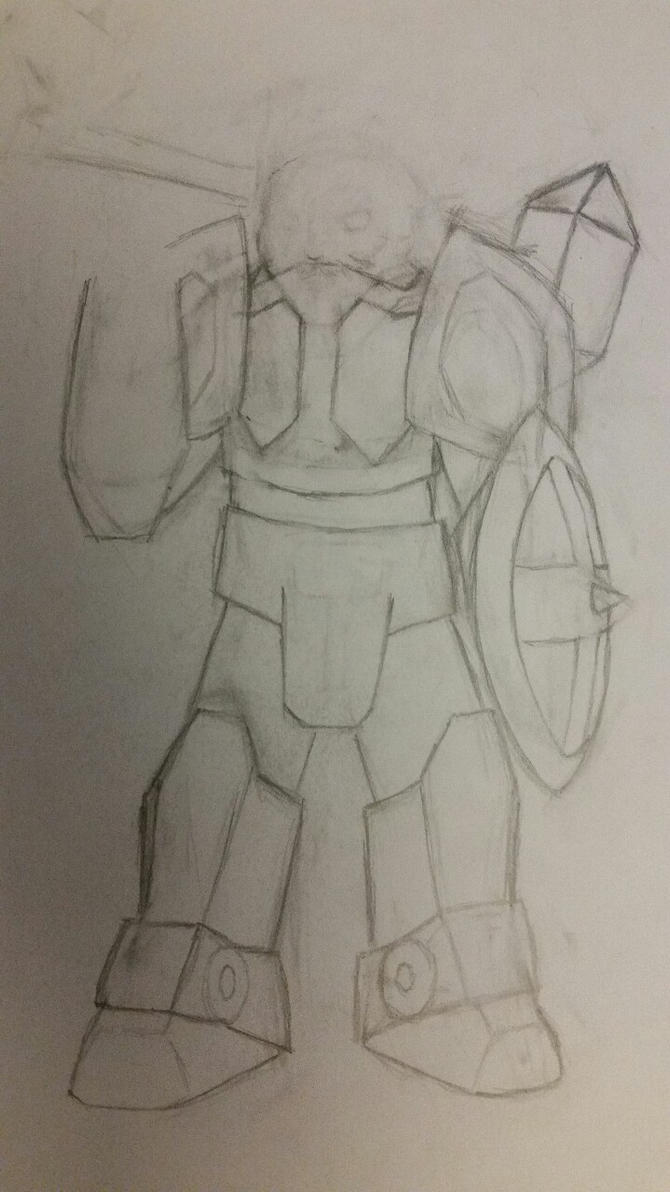 Bru Gear Drawing by X0AW0LF