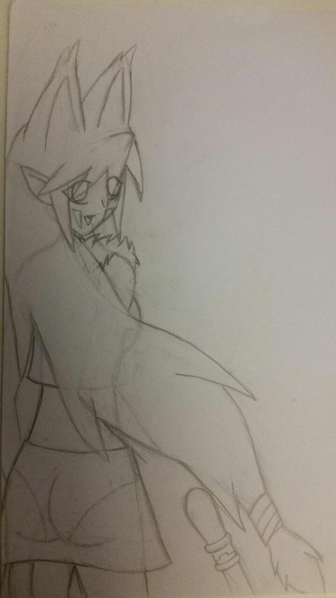 Aurora Drawing 3 by X0AW0LF