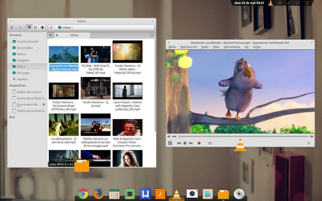 Videos VLC eLementary Os Luna by sumarilibre on DeviantArt