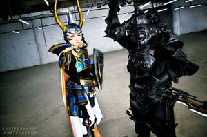 Warrior of Light:Light n Dark by darkdiety