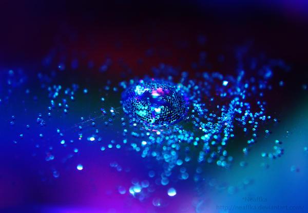 Crystal dragon by Neaffka
