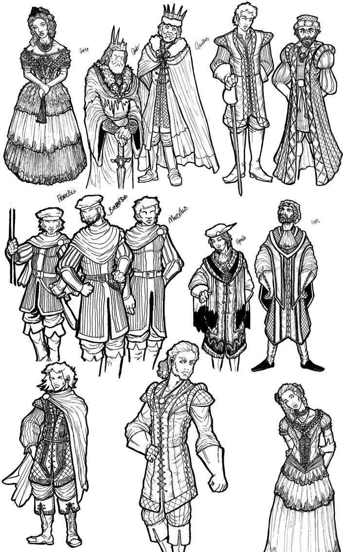Hamlet Costume Design by Stubbles on DeviantArt
