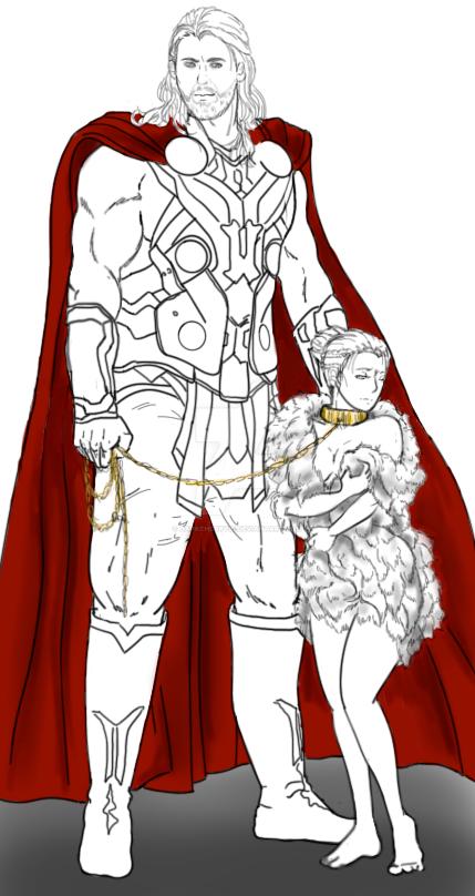 thor among the gods of asgard 2