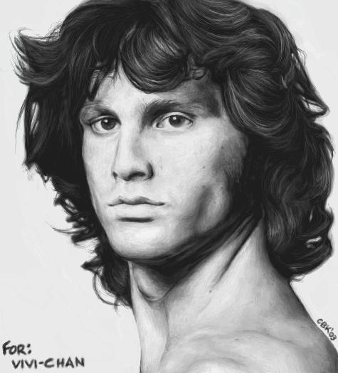 Jim Morrison Ugly Hair Cuteblackkat Deviantart