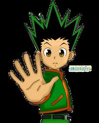 Gon Freccs Render [PNG] by miahatake13