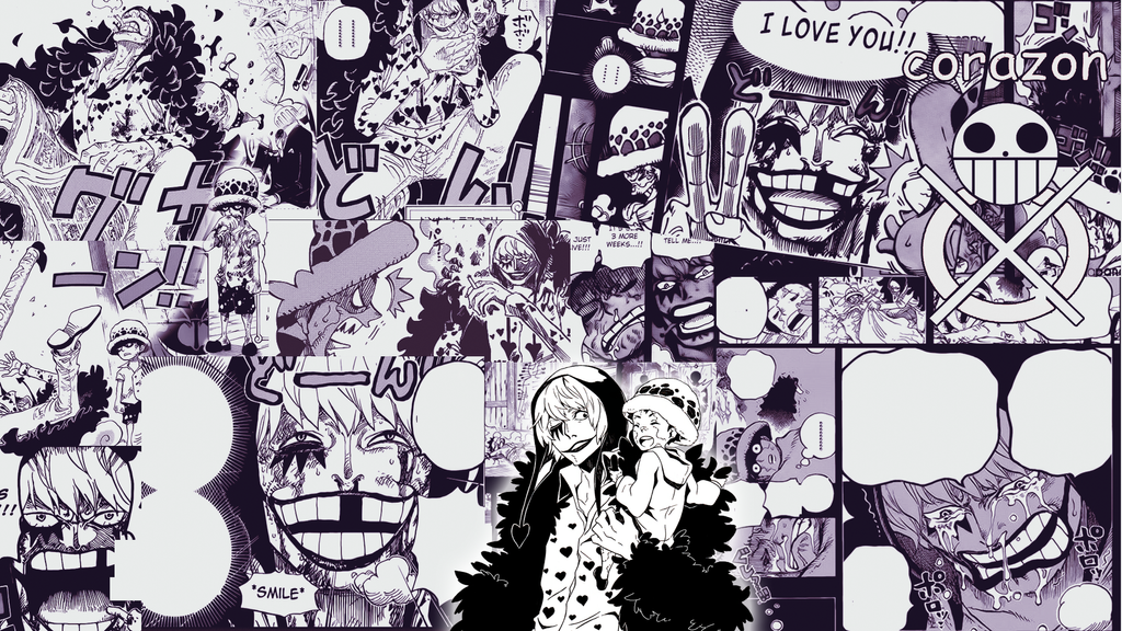 One Piece  Law And Corazon Wallpaper HD By Miahatake13 On