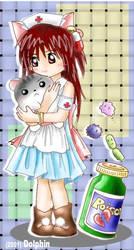 Nurse with Hamu by miutopia