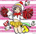 Chicken Cheerleader
