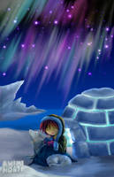 Igloo - for Anime North 2005 by miutopia