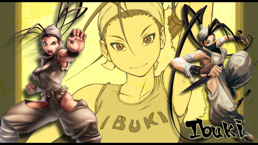 Ibuki Wallpaper by casu90