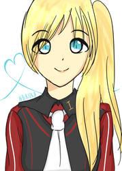 that blonde-haired girl from furuya by YowaneYamanaka