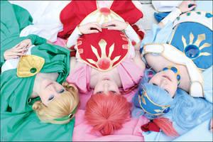 Magic Knight Girls Artbook I by LilyMilkshake