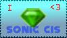 Sonic CIS Stamp by PhoenixManX-XL