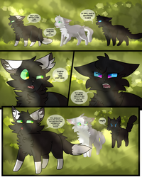 [] The Black Moon -  Page 1 [] by CrystalColors