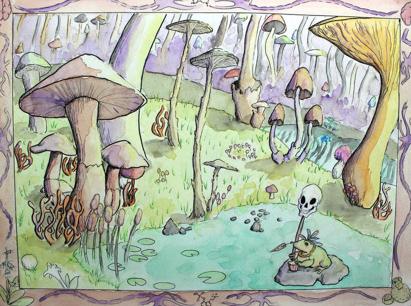 Mushroom Forest by Metavor