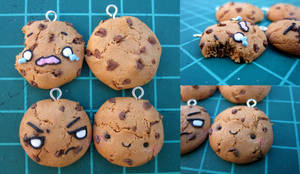 Chocolate Chip Cookies- Polymer clay