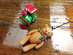 Christmas ornaments by CrazyStalkerLady
