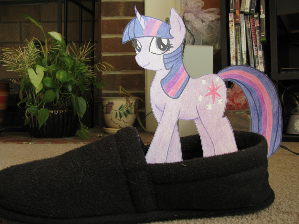 Twilight Loves Slippers by DJ-Sky-Storm-117