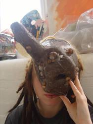 Snail Queen Mask