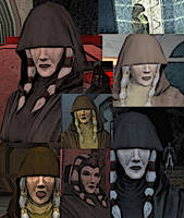 Collage of Kreia by LadyIlona1984