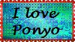 Ponyo Stamp by LadyIlona1984