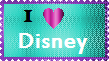Disney Stamp by LadyIlona1984