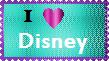 Disney Stamp by LadyIlona1984
