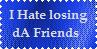 Losing Friends