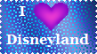 Disneyland Stamp by LadyIlona1984