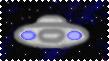 UFO Stamp by LadyIlona1984