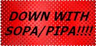 anti-SOPA and anti-PIPA by LadyIlona1984