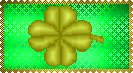 Gold Four-Leaf Clover by LadyIlona1984