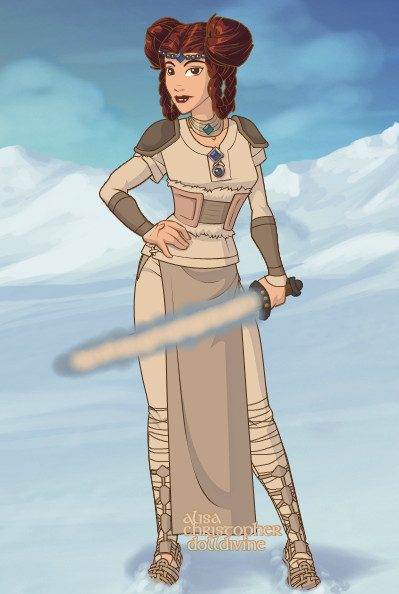 Viking Princess Leia by LadyIlona1984 on DeviantArt