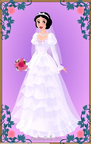 Blushing Bride Snow White by LadyIlona1984