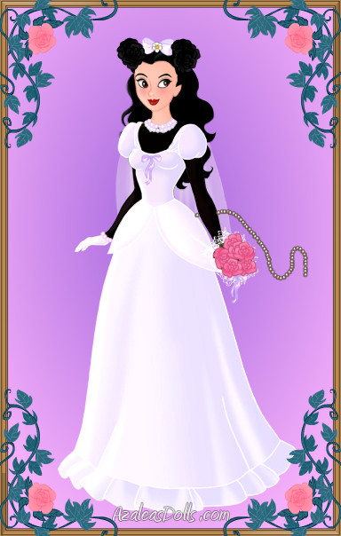 Blushing Bride Minnie Mouse by LadyIlona1984 on DeviantArt