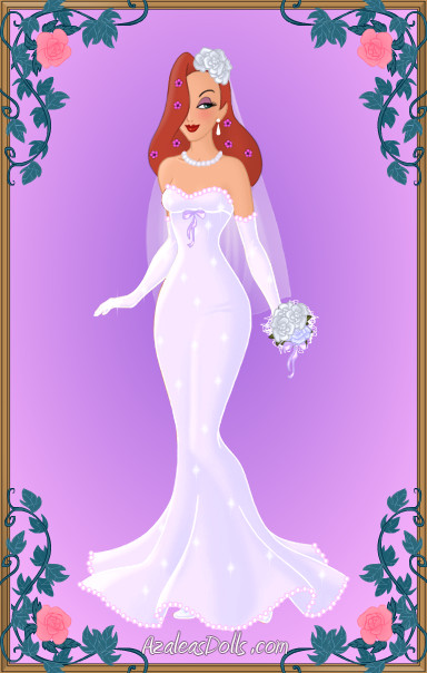 Blushing Bride Jessica Rabbit by LadyIlona1984 on DeviantArt