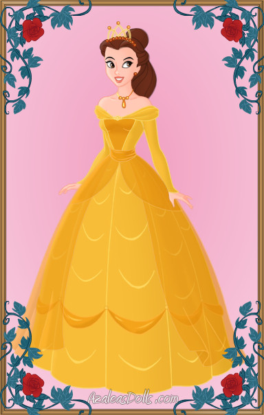 Queen Belle by LadyIlona1984 on DeviantArt Beauty And The Beast Belle Pink Dress