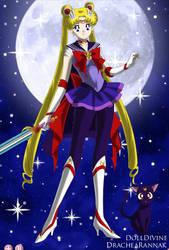 Jedi Sailor Moon by LadyIlona1984
