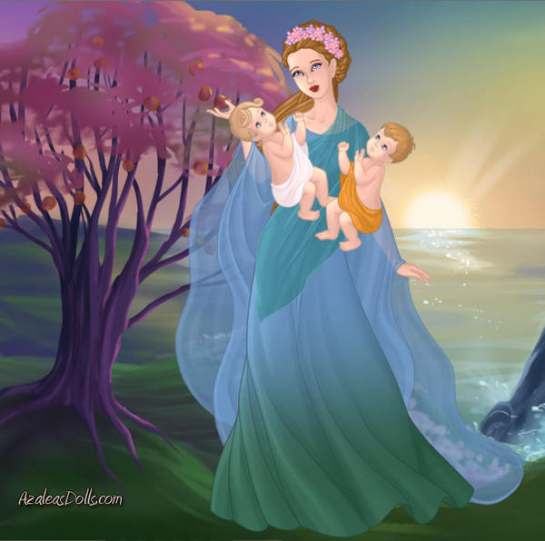 Artemis Greek Goddess Symbol DeviantArt: ladyilona1...