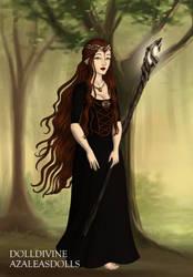 Hobbit Witch by LadyIlona1984