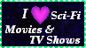 Sci-Fi Movie and TV Shows by LadyIlona1984