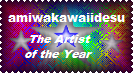 amiwakawaiidesu Stamp by LadyIlona1984