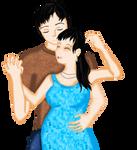 Mr. and Mrs. Goto by LadyIlona1984