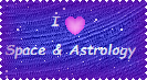 Love of Space and Astrology