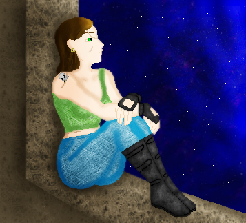 Looking at the Stars by LadyIlona1984
