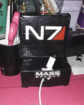 N7 phone holder and pencil holder by LadyIlona1984