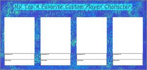 Custom Player Character Meme