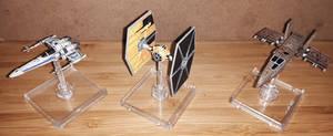 Star Wars Miniatures Ships