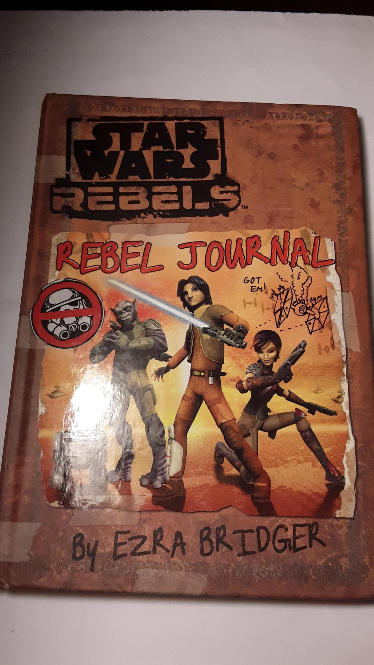 Rebel Journal by Ezra Bridger