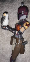 Sabine Wren and the Porg